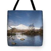 Rannoch Moor - Winter Tote Bag
