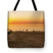 Reculver Sunset Tote Bag