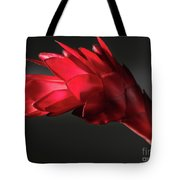 Red Ginger Alpinia Purpurata Flower Tote Bag