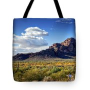 Red Mountain  Tote Bag