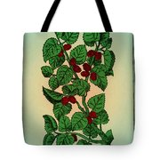 Red Mulberry Tote Bag
