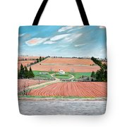 Red Soil On Prince Edward Island Tote Bag