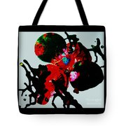 Red Spider Nebula Tote Bag