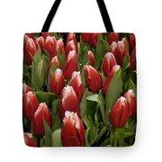 Red Tulip Heaven Tote Bag