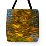Reflection In Water. Tote Bag