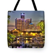 Renaissance Center Detroit Mi Tote Bag