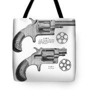 Revolvers, 19th Century Tote Bag