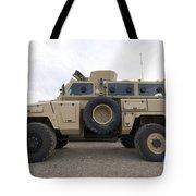 Rg-31 Nyala Armored Vehicle Tote Bag