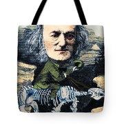 Richard Owen, English Paleontologist Tote Bag by Science Source