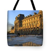 Richelieu Wing Of The Louvre Museum In Paris Tote Bag