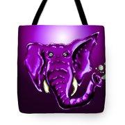 Ringo Party Animal Purple Tote Bag
