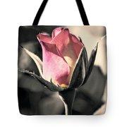 Rita Rosebud Pink Tote Bag