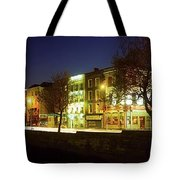 River Liffey, Dublin, Co Dublin, Ireland Tote Bag
