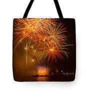 River Thames Fireworks Tote Bag