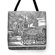 Road Travel Tote Bag