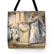 Roman Senate: Catiline Tote Bag
