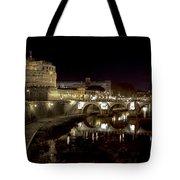 Rome Ponte San Angelo Tote Bag