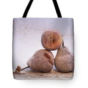 Rotten Pears And Apple. Tote Bag