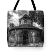Round Church Of The Holy Sepulchre Tote Bag