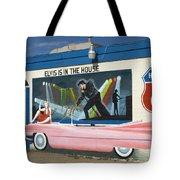 Route 66 Elvis Tote Bag