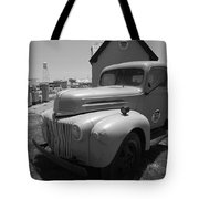 Route 66 Truck And Gas Station Tote Bag