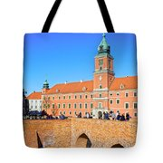 Royal Castle In Warsaw Tote Bag