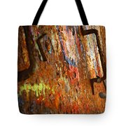 Rust Background Tote Bag