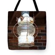 Rusty Lantern Tote Bag