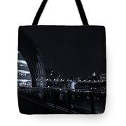 Sage Gateshead At Night Tote Bag