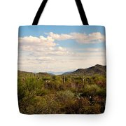 Saguaro National Park Az Tote Bag