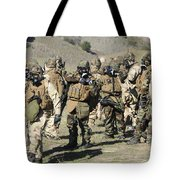 Sailors Dressed In Full Mission Tote Bag
