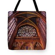 Saint Chapelle Tote Bag
