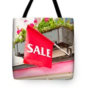 Sale Sign Tote Bag