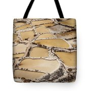 Salt Spring And Incan Tote Bag