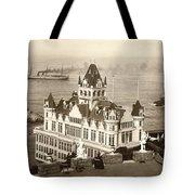 San Francisco Cliff House Tote Bag