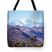 San Gorgonio Mountains Tote Bag