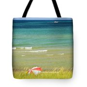 Sand Dunes At Beach Tote Bag by Elena Elisseeva