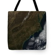 Satellite View Of The Southeastern Tote Bag