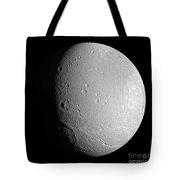 Saturns Moon Dione Tote Bag