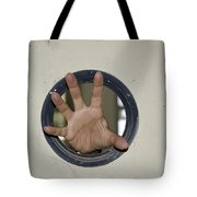 Scary Hand Tote Bag
