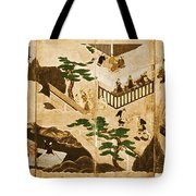 Scenes From The Tale Of Genji Tote Bag