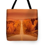 Scenic Highway Tote Bag