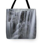 Scenic Waterfall In Borneo Rain Forest Tote Bag