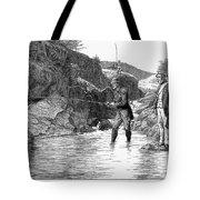 Scotland: Fishing, 1880 Tote Bag