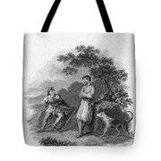 Scott: Ivanhoe, 1832 Tote Bag