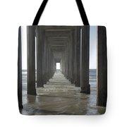 Scripps Pier La Jolla California 5 Tote Bag