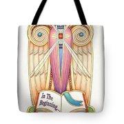 Scroll Angel - Ionica Tote Bag
