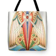 Scroll Angels - Pax Tote Bag by Amy S Turner