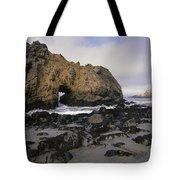 Sea Arch At Pfeiffer Beach Big Sur Tote Bag