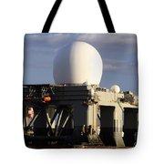 Sea Based X-band Radar Dome Modeled Tote Bag